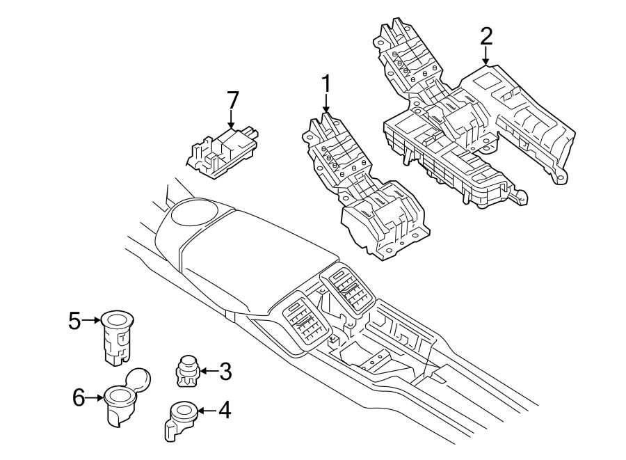 2015 Porsche Panamera Control. UNIT. Module. AS AC. DASH