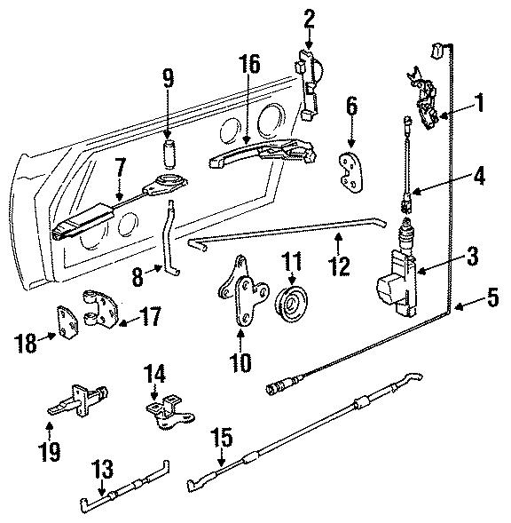 1986 Porsche 911 Lock knob. LOCKING COIL. Solenoid. Group