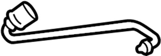 Porsche Cayman Disc Brake Pad Wear Sensor. Ceramic, Brakes