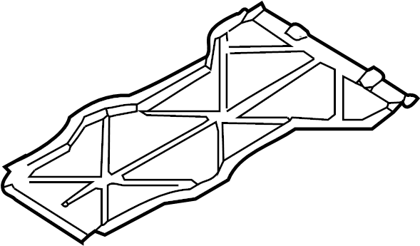 Porsche 911 Center cover. Floor Pan Splash Shield. SHIELDS