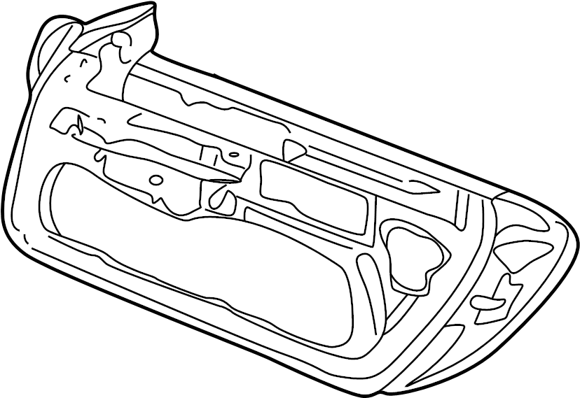 Porsche 911 Door Shell. Right, Group, Front, COMPONENTS