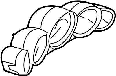 Porsche 911 Instant cluster. Instrument cluster. 911