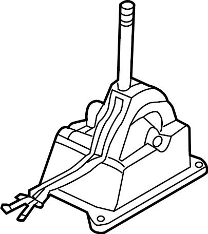 Porsche 911 Manual Transmission Shift Lever. SHIFTER