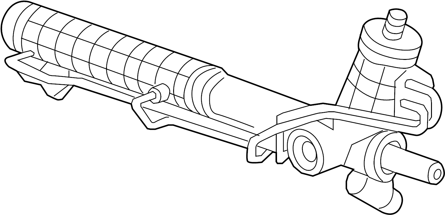 Porsche 911 Rack and Pinion Assembly. STEERING, GEAR, Make