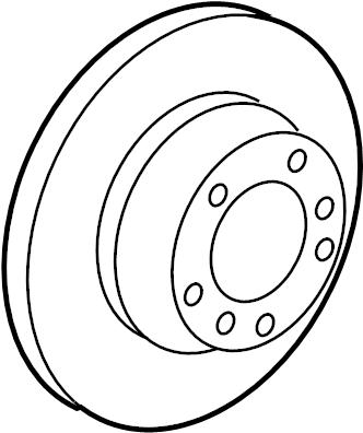 Porsche 911 Disc Brake Rotor. Make, Replace, Brakes