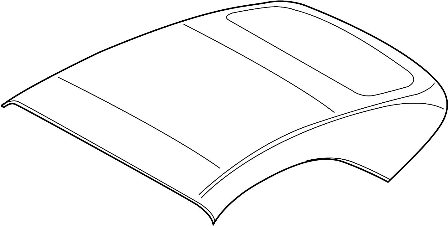 Porsche 911 Convertible Top Assembly. CONVERTIBLE, blue