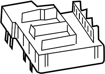 Porsche Cayenne Fuse Box. Telematics, Lighting, Holder
