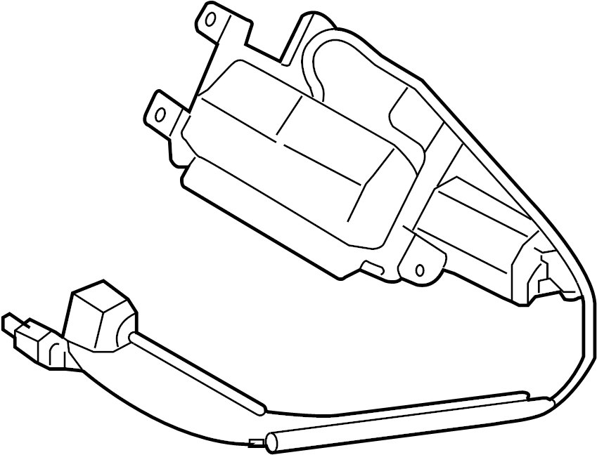 Porsche Cayenne Park Assist Camera. Rear, REVERSE, Replace
