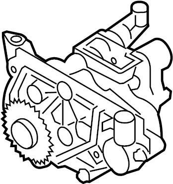 2006 Porsche Cayenne As oil pump. Cayenne. W/o