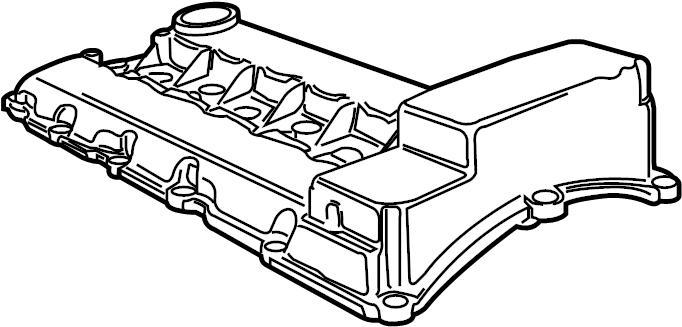 Porsche Cayenne Engine Valve Cover. 3.6 LITER. 3.6 LITER