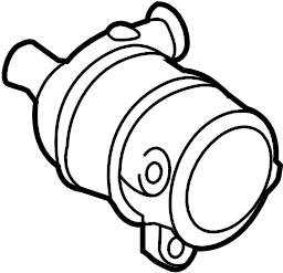 Porsche Cayenne Engine Auxiliary Water Pump. LITER