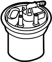 Porsche Cayenne Fuel. Pump. FLANGE. Filter. Housing. COVER