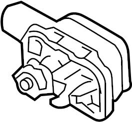 Porsche Cayenne Air Bag Impact Sensor (Front). SENSORS