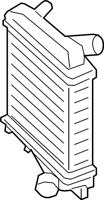 Porsche Cayenne Intercooler. Liter, HYBRID, Mounting