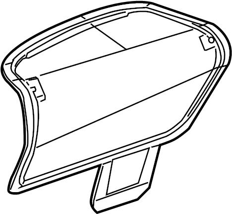 2007 Porsche Boxster Air Cleaner Cover. Air Filter Housing