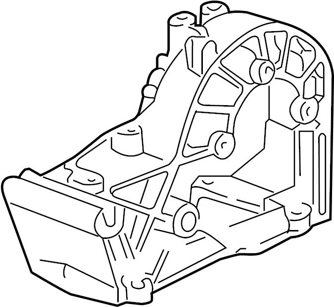 1989 Porsche Belt. Bracket. Tensioner. Pulley. Accessory