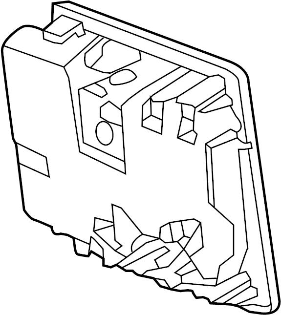 2015 Porsche 911 Engine Control Module. 2012-16, w/o GT3