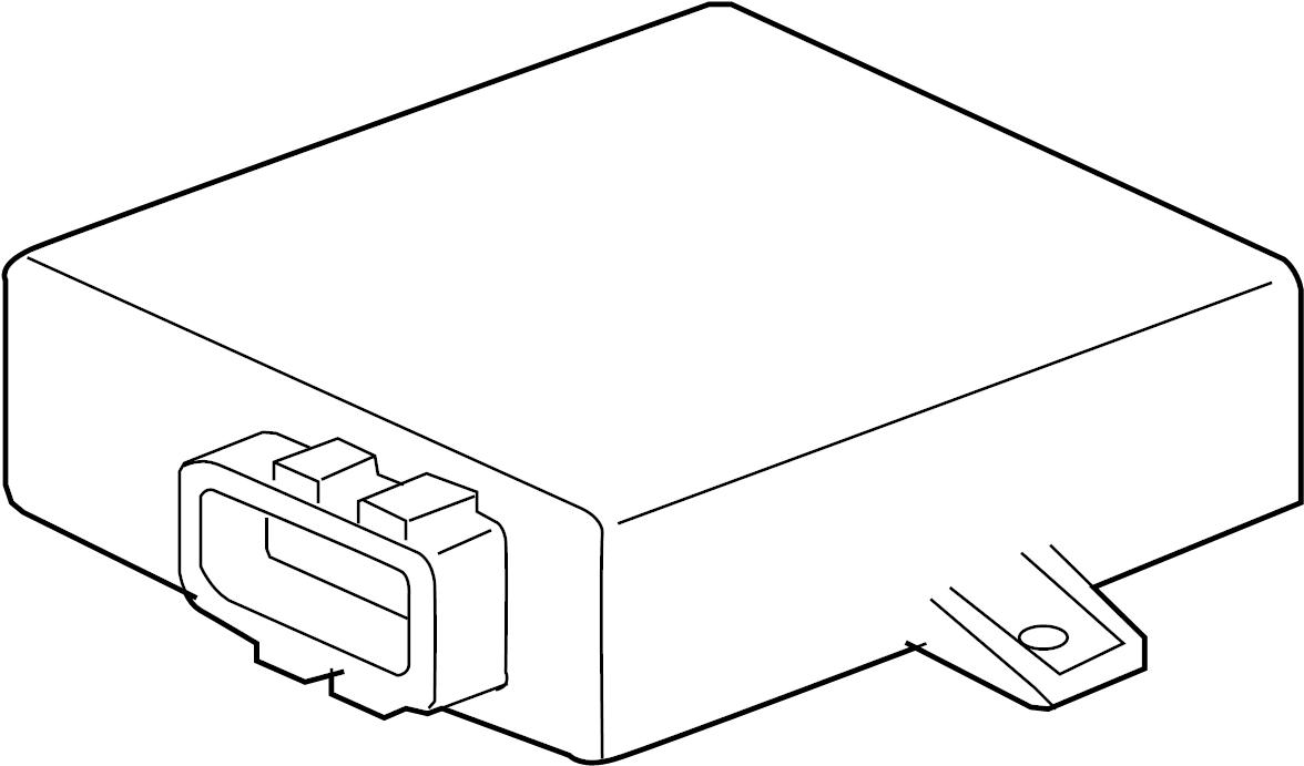 Porsche Cayman Control module. Control unit. Controller