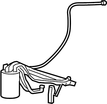 Porsche Panamera Electric Fuel Pump. Fuel Pump and