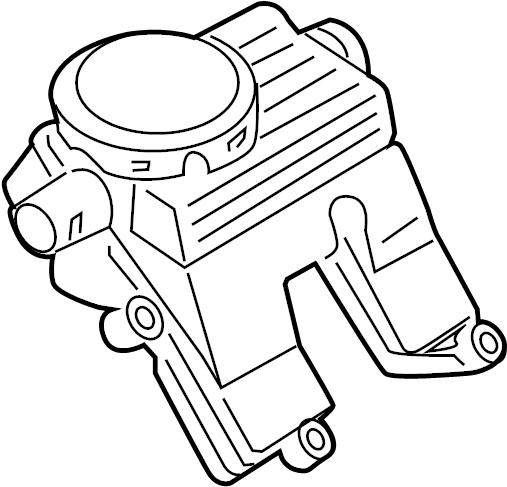 Porsche Cayenne Engine Crankcase Vent Valve. Engine