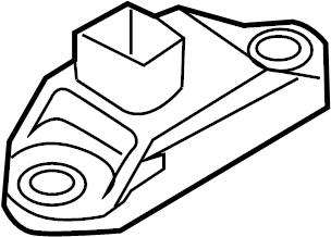 Porsche Panamera Suspension Ride Height Sensor. SYSTEM