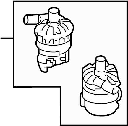 Porsche Cayenne Drive Motor Inverter Cooler Water Pump