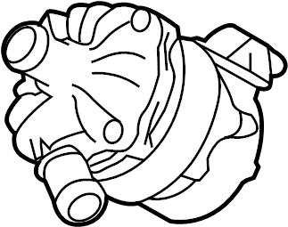 Porsche Cayenne Auxiliary pump. Drive motor inverter