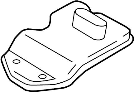 2016 Porsche Panamera As oil pan. Transmission pan