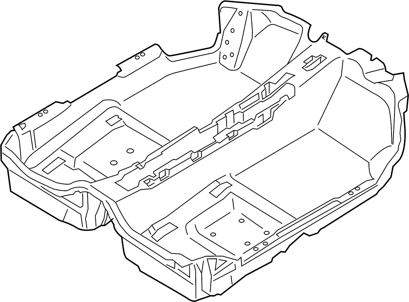 Porsche 718 Boxster Floor Carpet Convertible Espresso