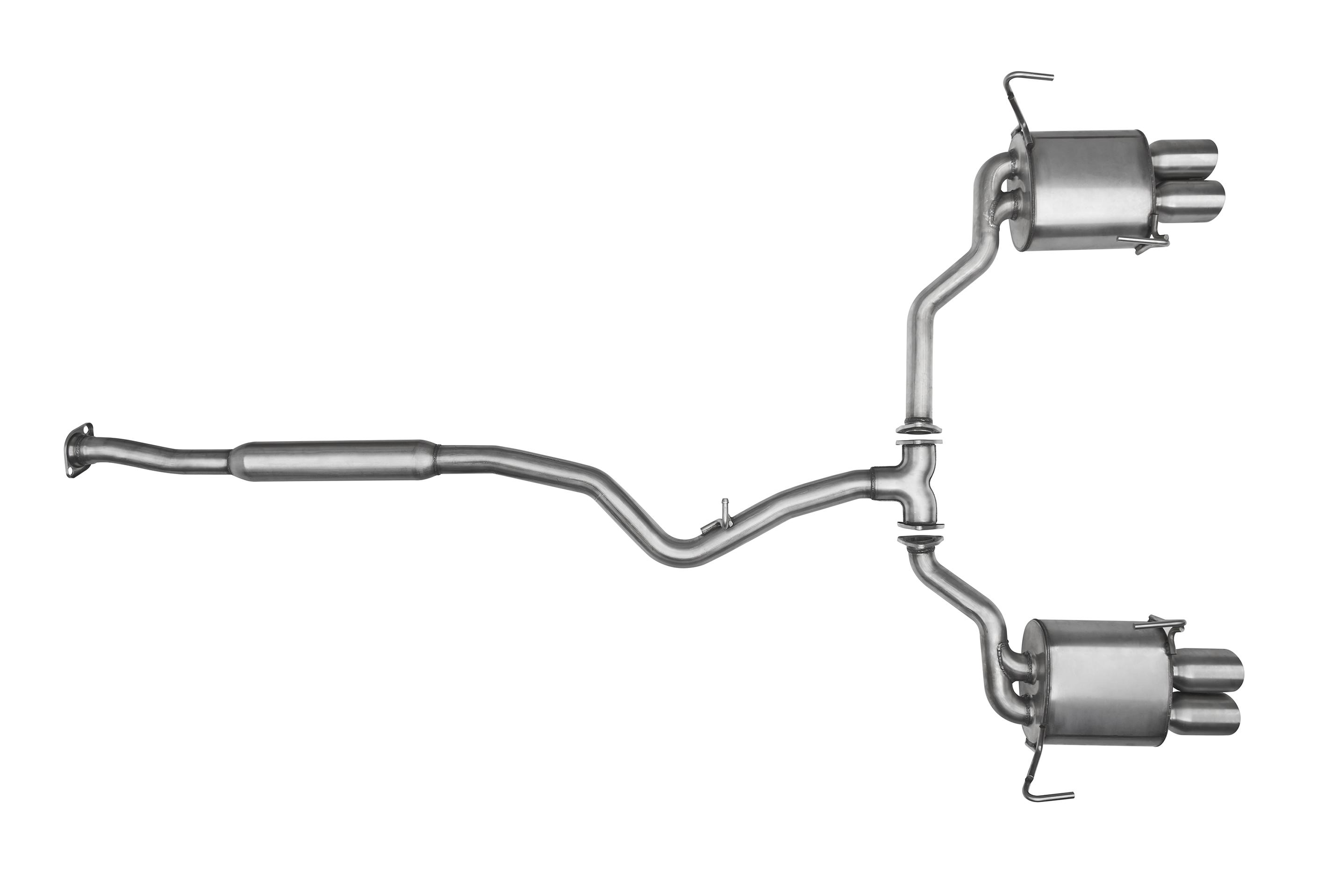 2016 Subaru STI Sti performance™ exhaust (sti