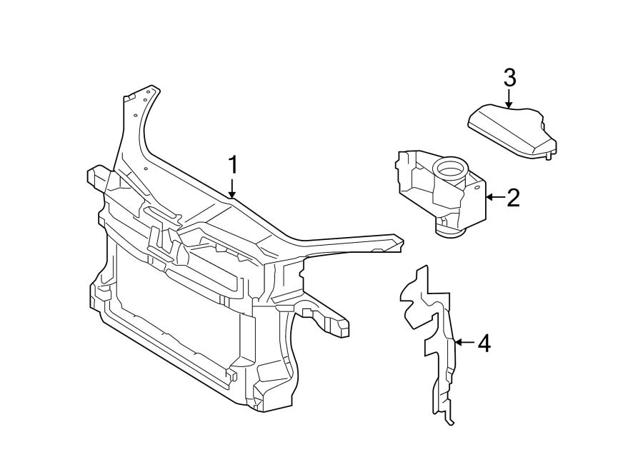 Volkswagen Rabbit Duct. Air. (Rear, Upper, Lower). 2.0