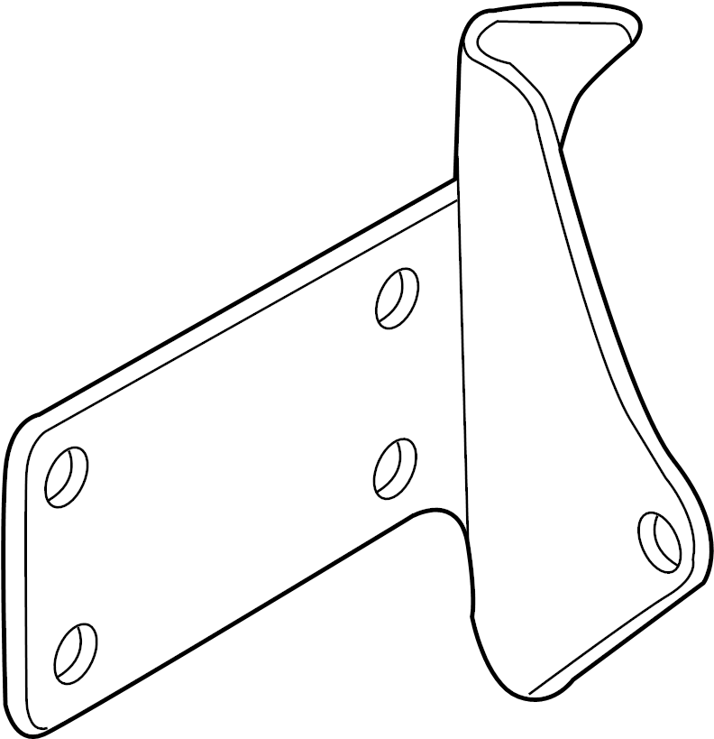 volkswagen front motor mount