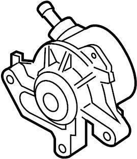 Volkswagen Jetta Fuel pump. Injection pump. Power brake
