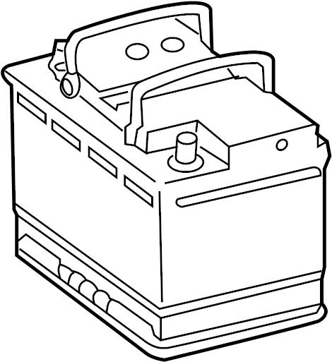 Volkswagen CC Vehicle Battery. Amp, Liter, Hour