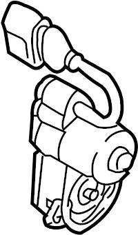 2006 Volkswagen Passat Parking Brake Actuator. AWD. FWD