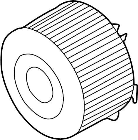 Carter Fuel Filter Element