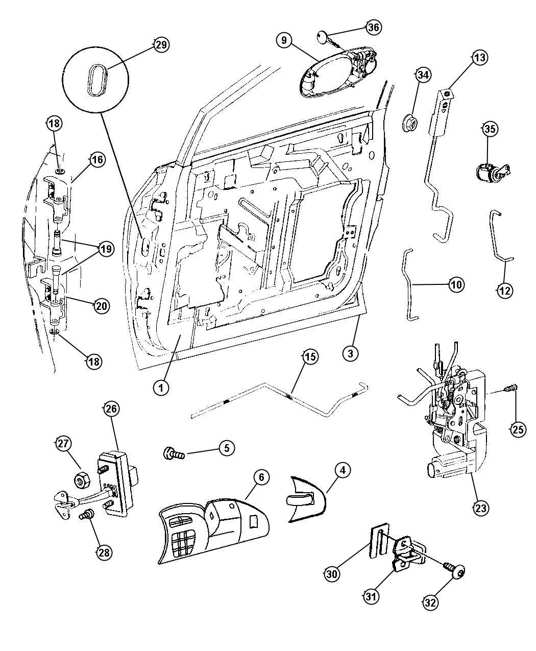 Chrysler Voyager Key. Blank. 84 groove. Black, primary