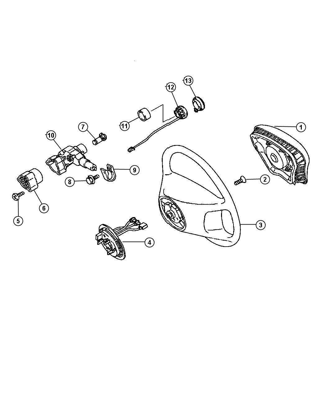 Chrysler Crossfire Sleeve. Steering linkage. Convertible
