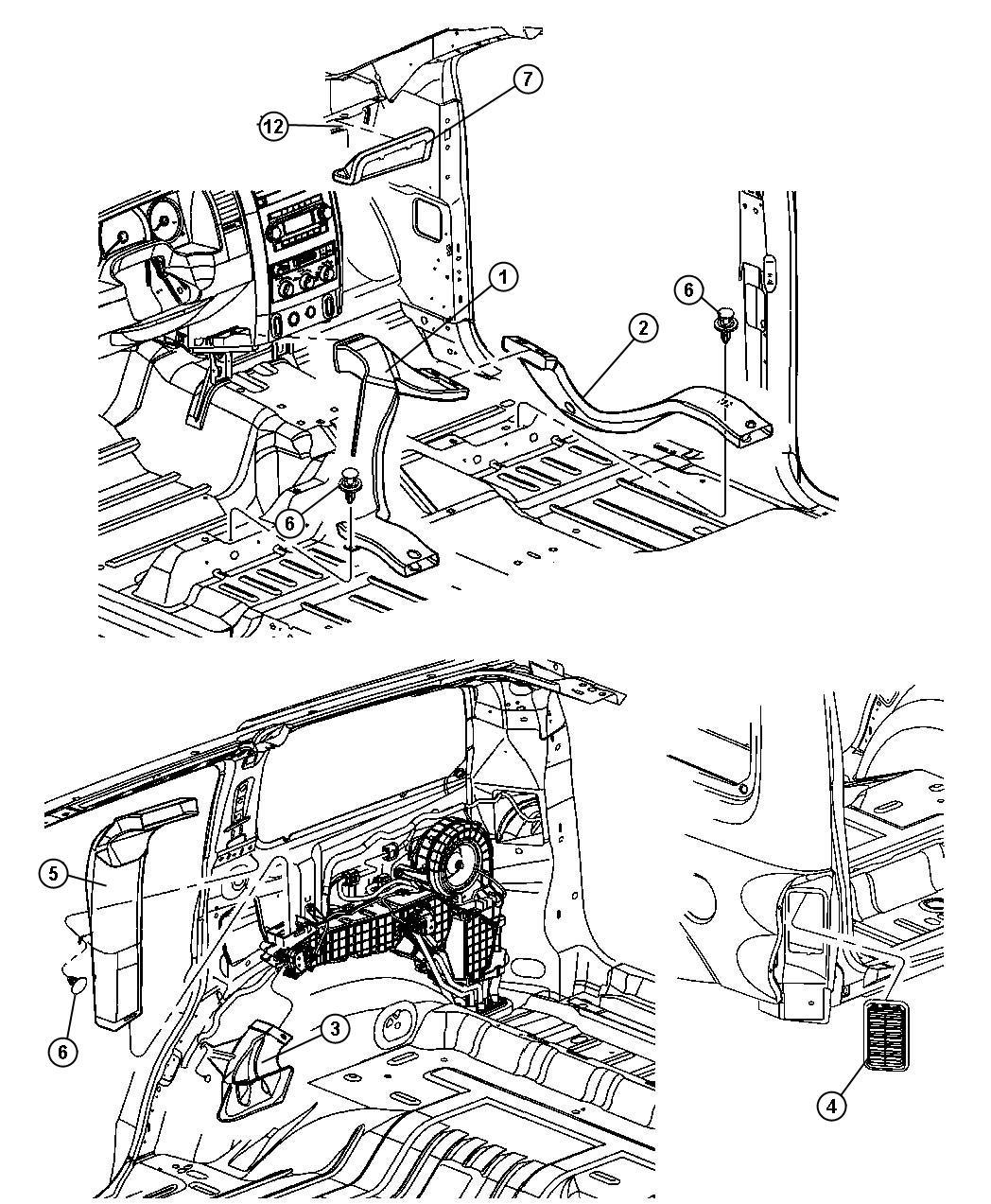 Dodge Durango Cap Blower Motor