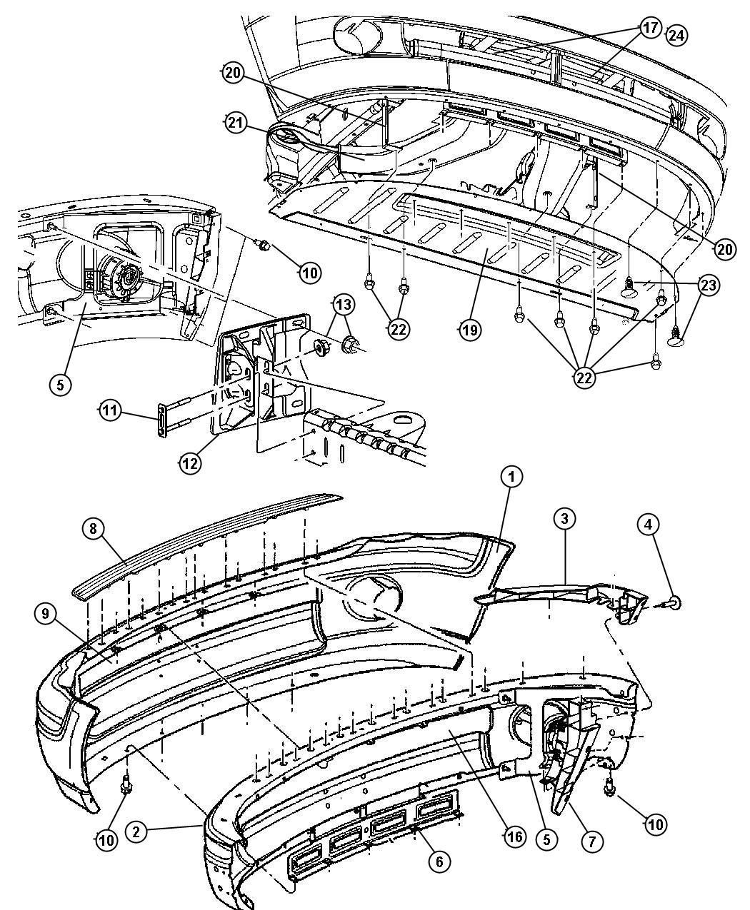 Dodge Ram Fascia Front Primed Fascia