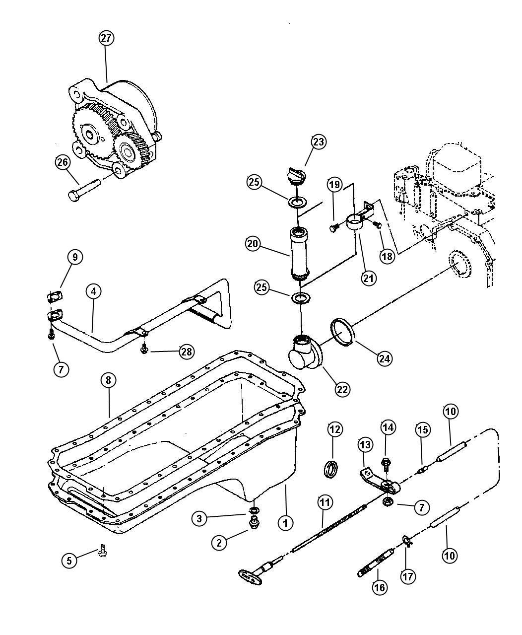Dodge Ram 2500 Indicator. Engine oil level. Emissions