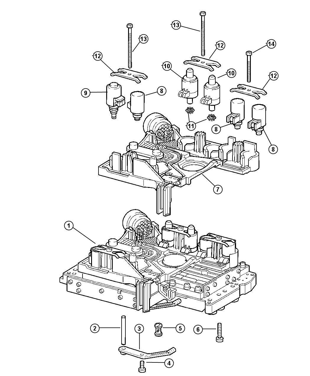 Dodge SPRINTER Filter. Transmission oil. Control