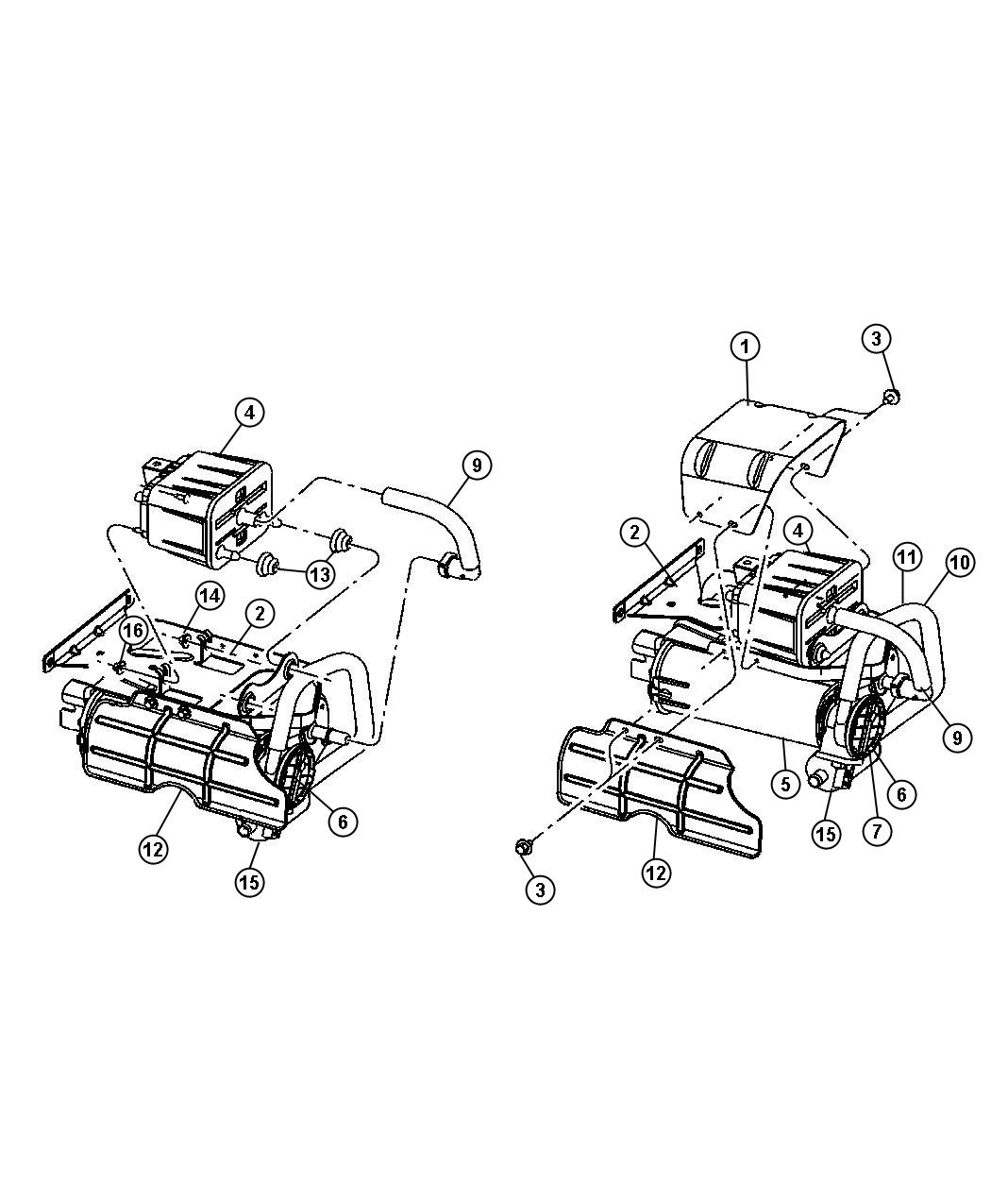 Dodge Ram 1500 Detector. Natural vacuum leak detection