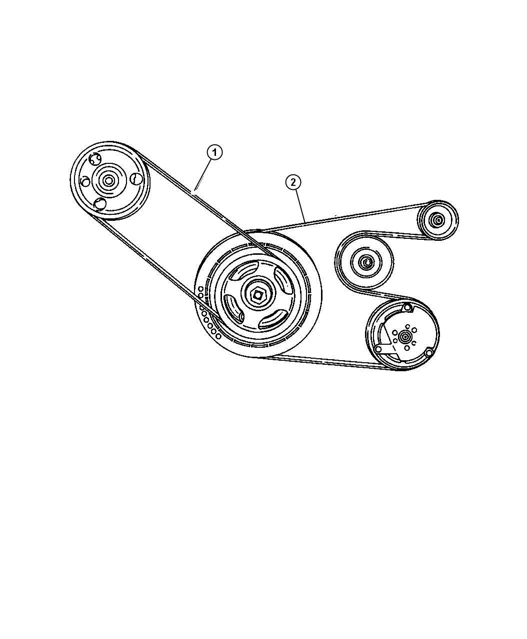 Dodge Stratus Belt Power Steering Rack Pinion