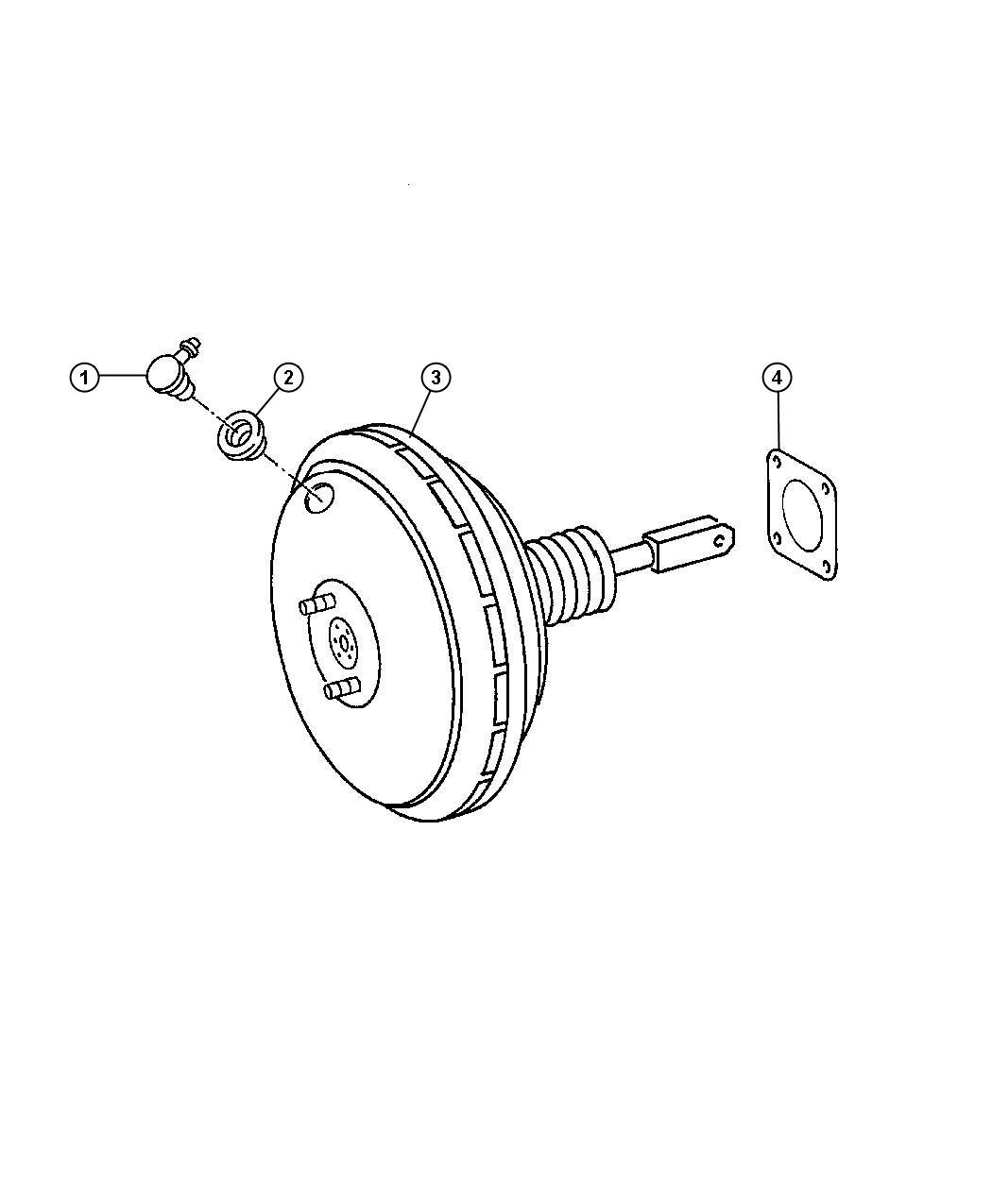 Dodge SPRINTER Valve. Brake booster check. Engine, diesel