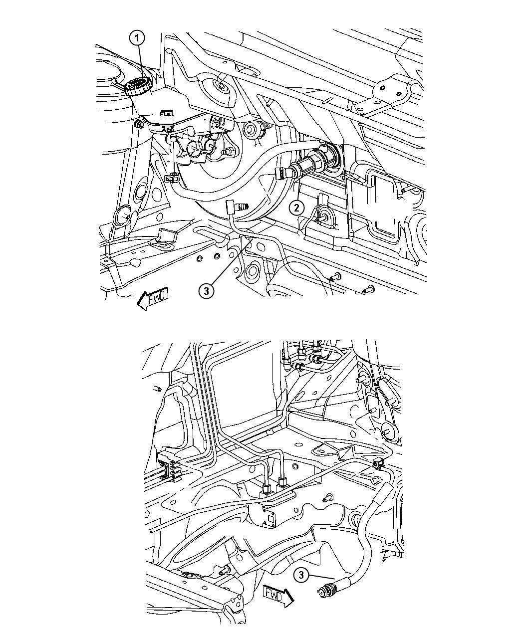 Dodge Caliber Actuator. Hydraulic clutch. Fwd, rwd, pedal