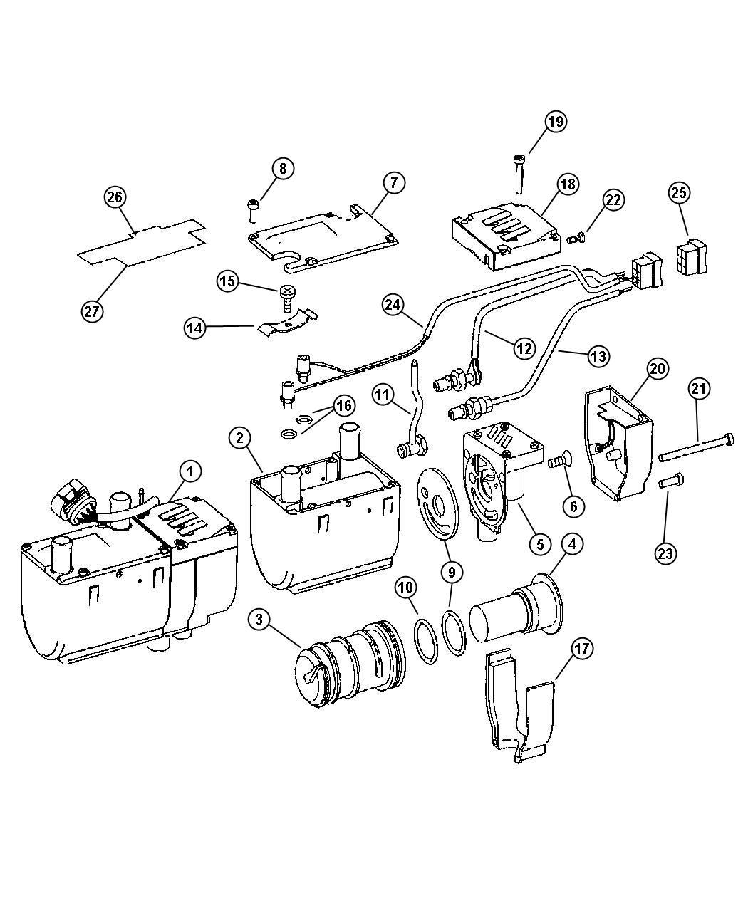 Dodge Sprinter Heater Supplementalsel Fuel Heat