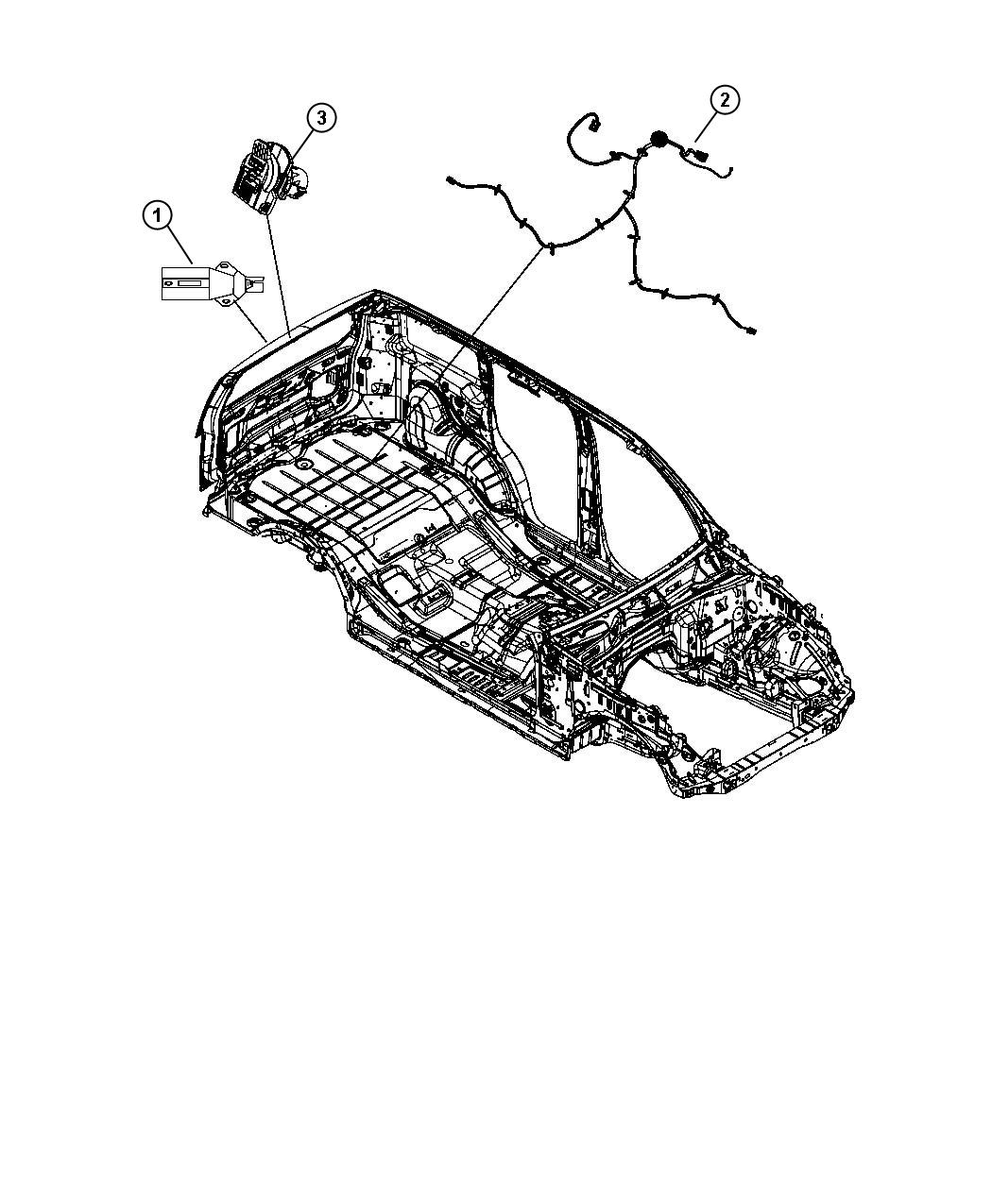 Jeep Liberty Wiring. Fuel tank. [18.5 gallon fuel tank