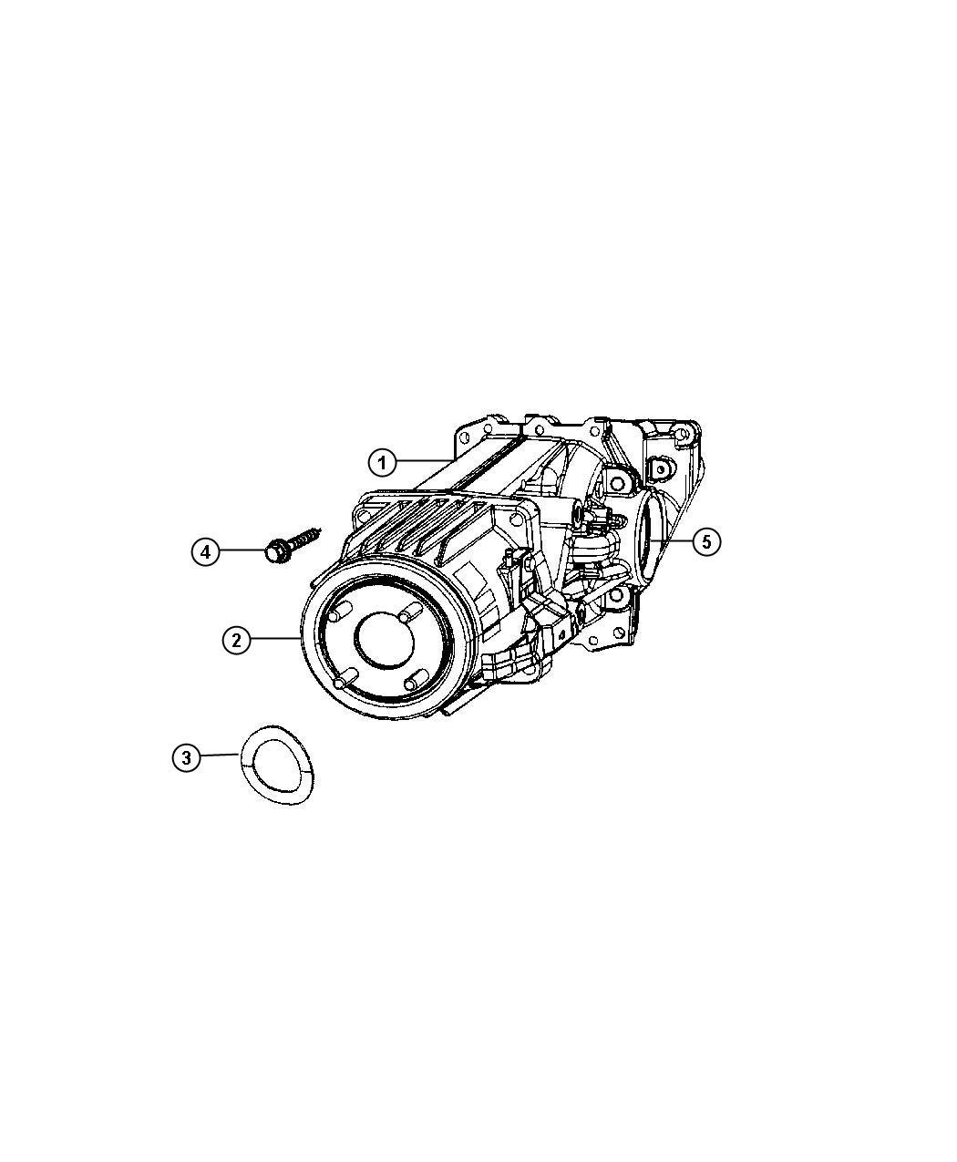 Dodge Caliber Seal. Input shaft, output shaft. Pinion gear