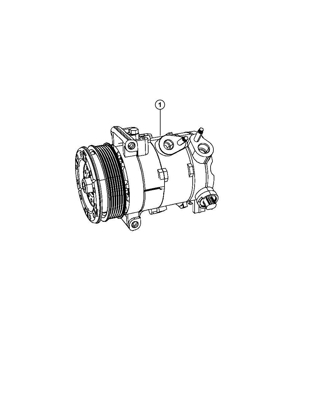 Chrysler Sebring Compressor Air Conditioning Control